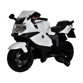 אופנוע 12V ממונע לילדים BMW KS1300 – לבן
