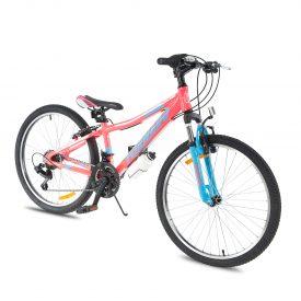 אופני הרים טורנדו M7 ורוד זוהר – אופני הילוכים מאלומיניום לילדים נוער ובוגרים