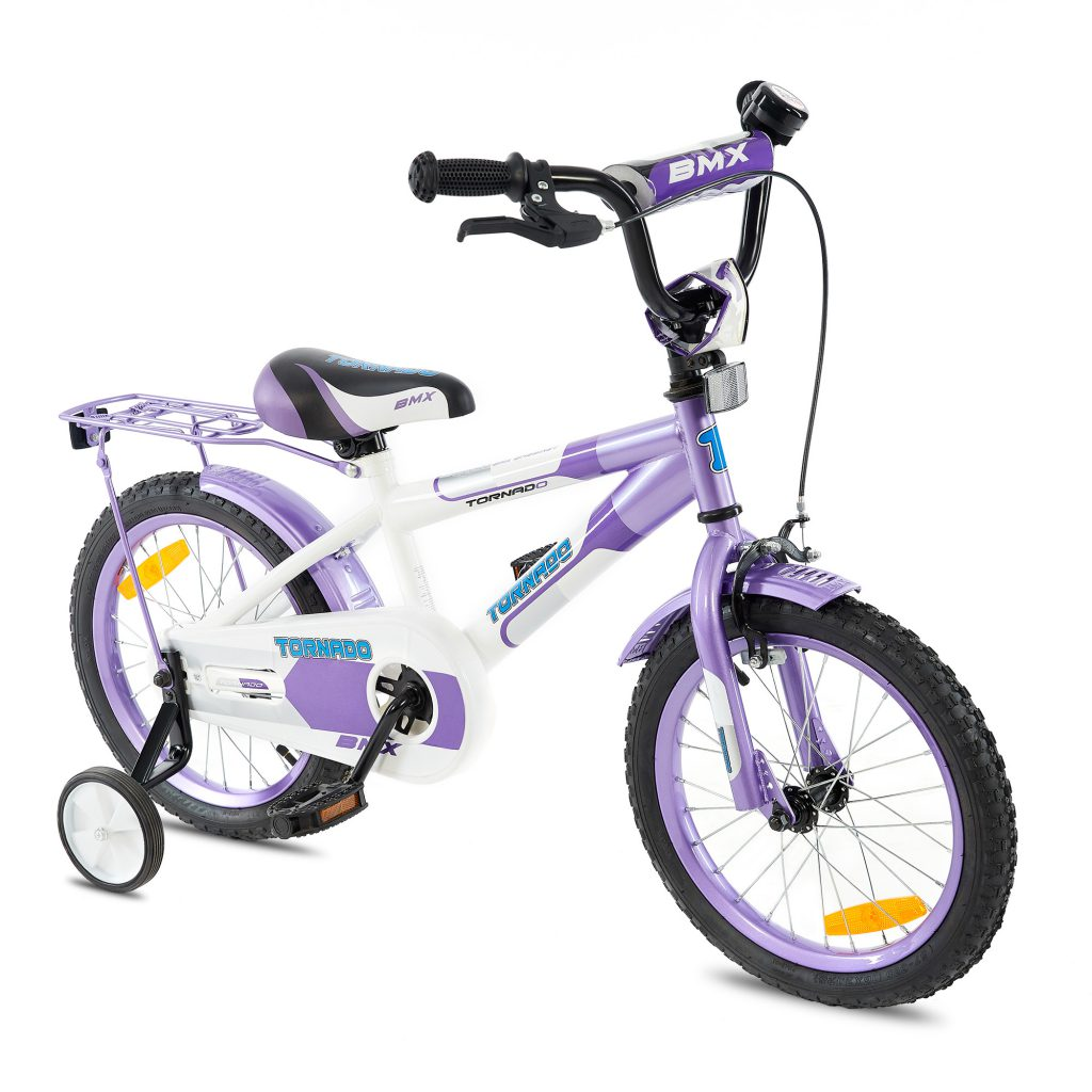 טורנדו – אופני ילדים BMX – סגול