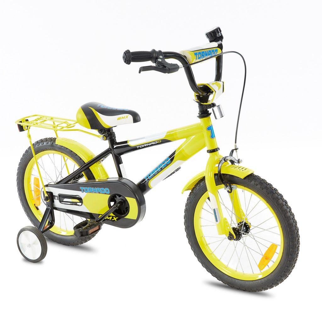 טורנדו – אופני ילדים BMX – צהוב