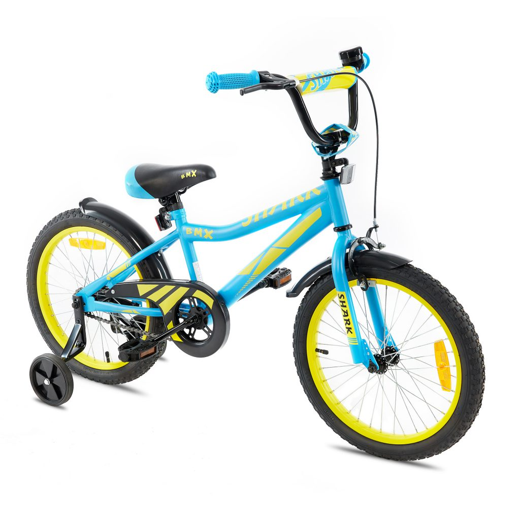 שארק – אופני ילדים BMX ספורטיביים – תכלת