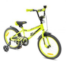 אופני ילדים BMX ספורטיביים שארק צהוב זוהר