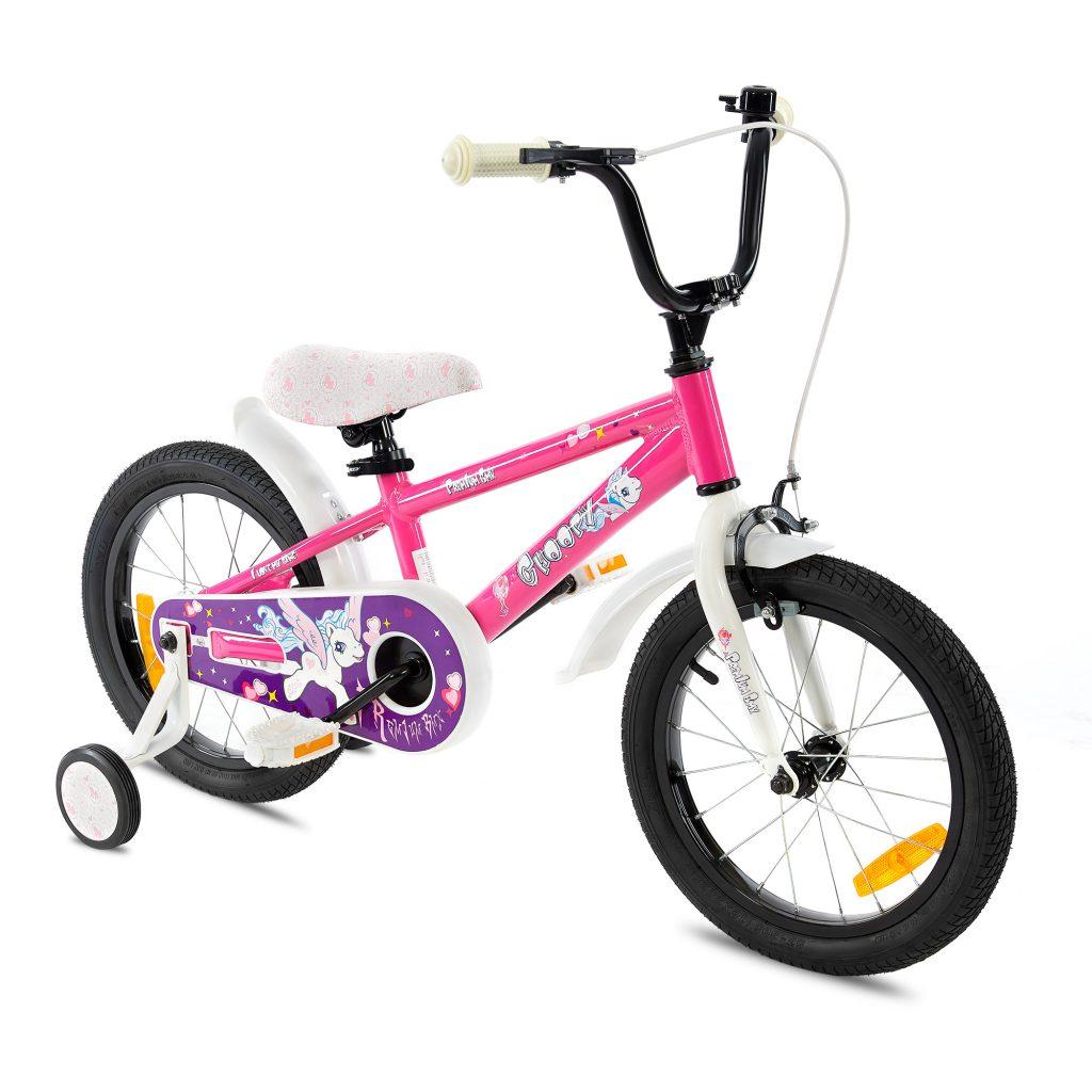 צ'ופי – אופני ילדים BMX אלומיניום – ורוד