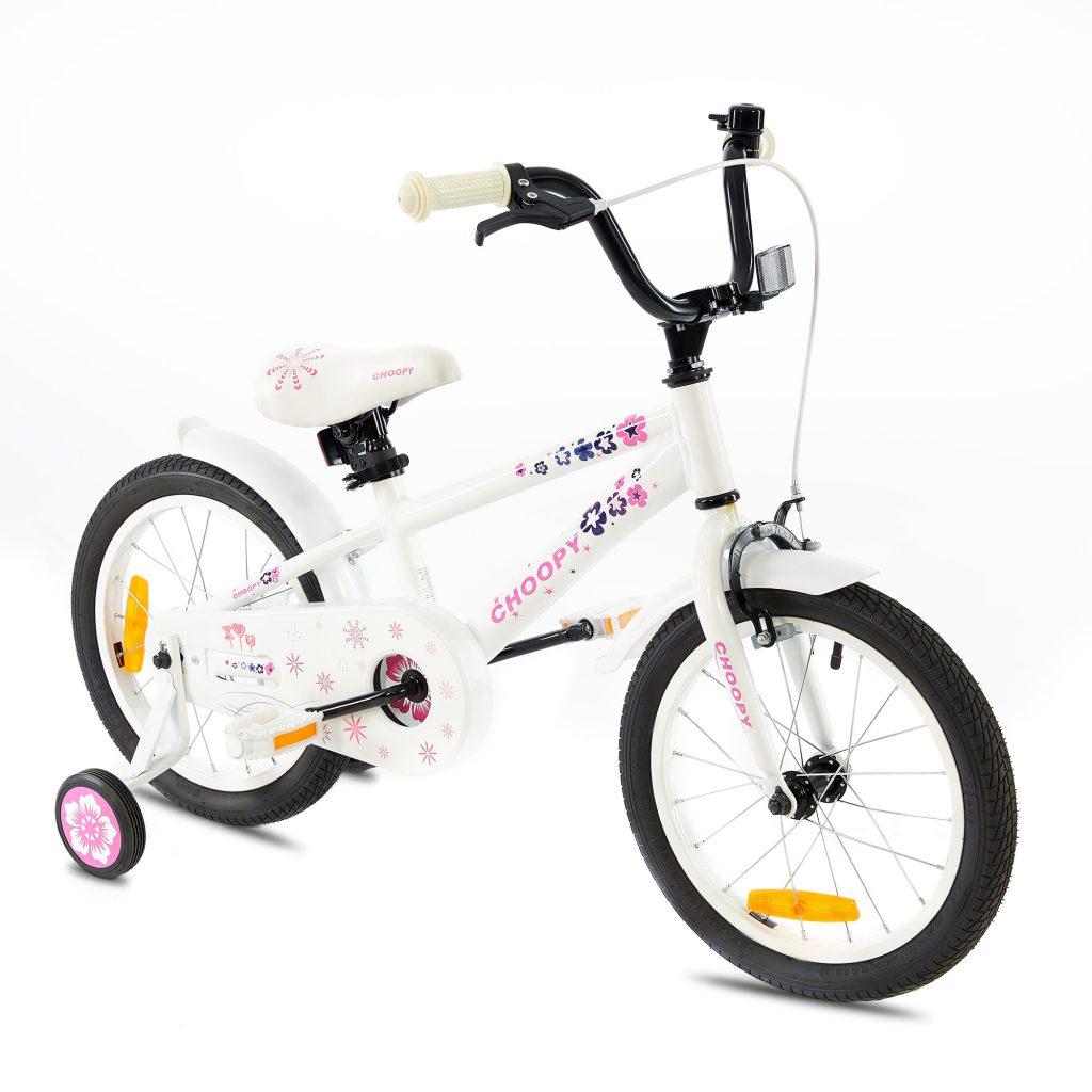 צ'ופי – אופני ילדים BMX אלומיניום – לבן