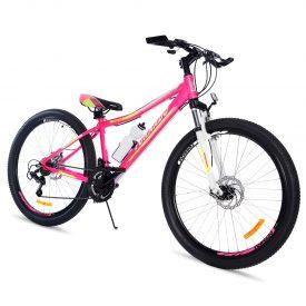 אופני הרים טורנדו M9 ורוד – אופני הילוכים מאלומיניום לילדים נוער ובוגרים