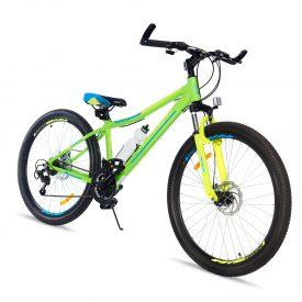 אופני הרים טורנדו M9 ירוק – אופני הילוכים מאלומיניום לילדים נוער ובוגרים