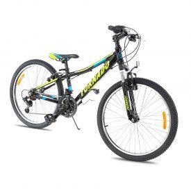 אופני הרים טורנדו M7 שחור – אופני הילוכים מאלומיניום לילדים נוער ובוגרים