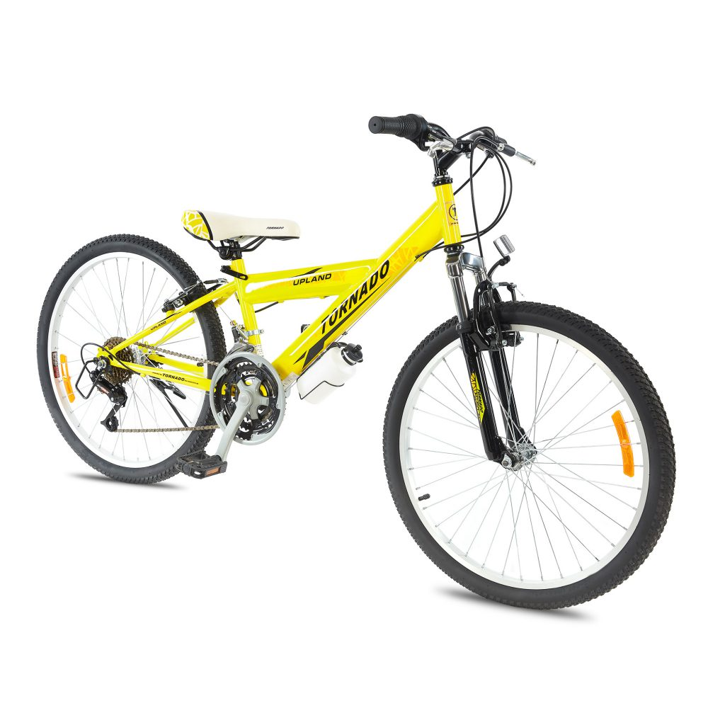 אופני הרים טורנדו M1 צהוב – אופני הילוכים לילדים נוער ובוגרים