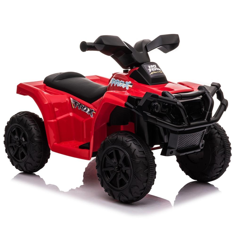 טרקטורון ממונע קטן לילדים 6 וולט אדום