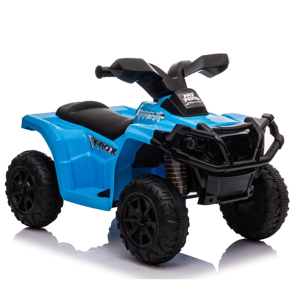 טרקטורון ממונע קטן לילדים 6 וולט כחול