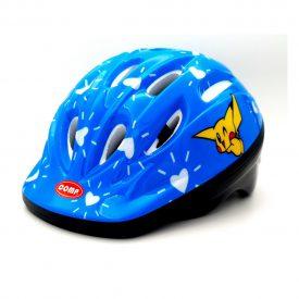 COMP STAR – קסדת אופניים בטיחותית לילדים – כחול משעשע
