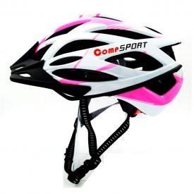 COMP SPORT – קסדת אופניים בטיחותית לנוער ובוגרים – ורוד