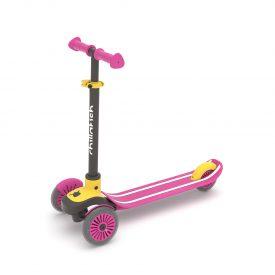סקוטי ורוד צהוב  –  קורקינט 3 גלגלים לילדים