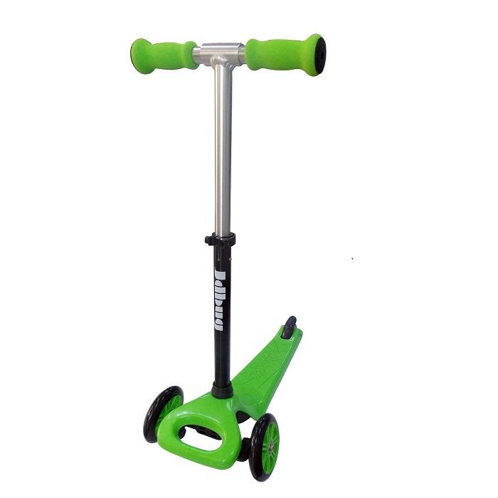 קורקינט JDBUG בצבע ירוק 3 גלגלים