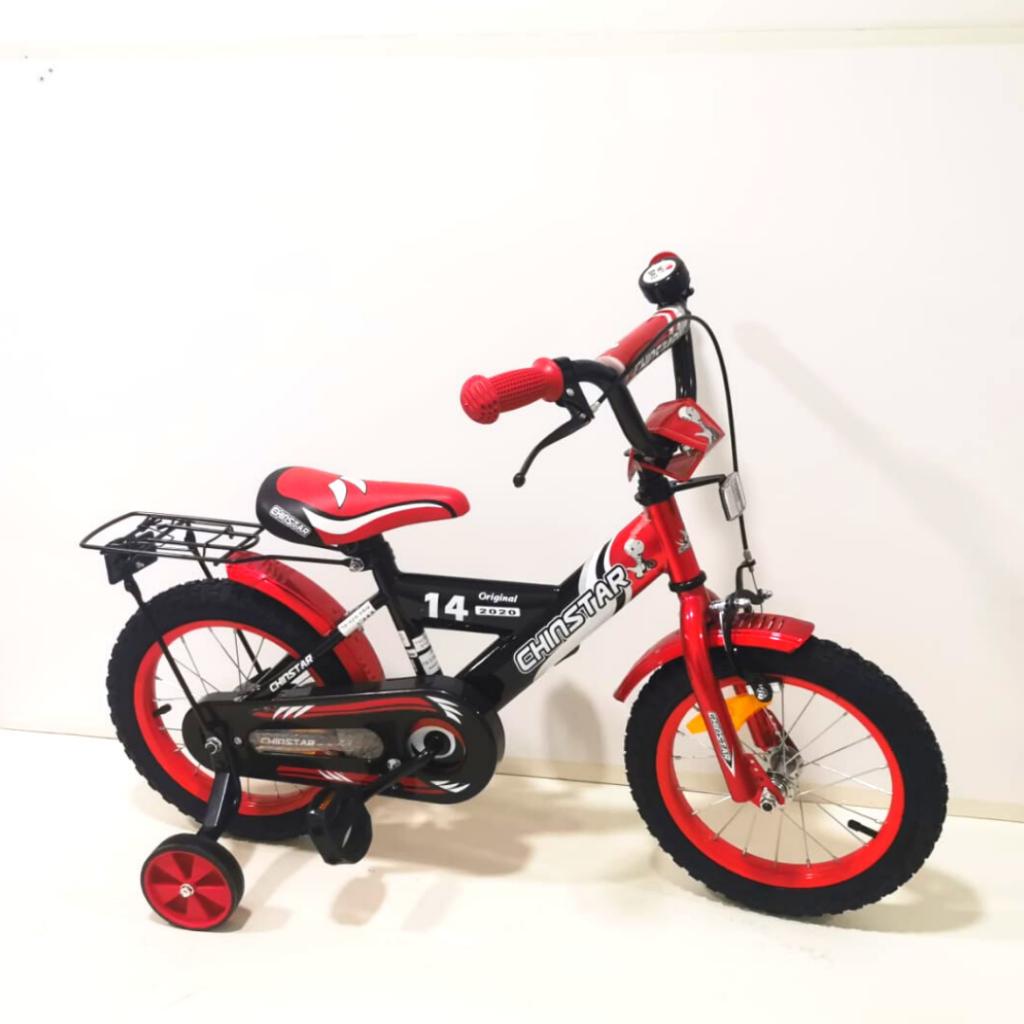 אופני ילדים BMX אדומות של STAR
