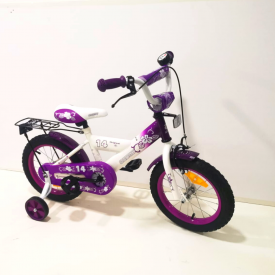 אופני ילדים BMX סגולות של STAR