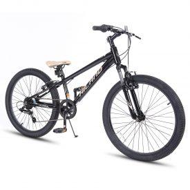 אופני הרים היילנד מרקורי שחורים – אופני הילוכים מאלומיניום לילדים ונוער