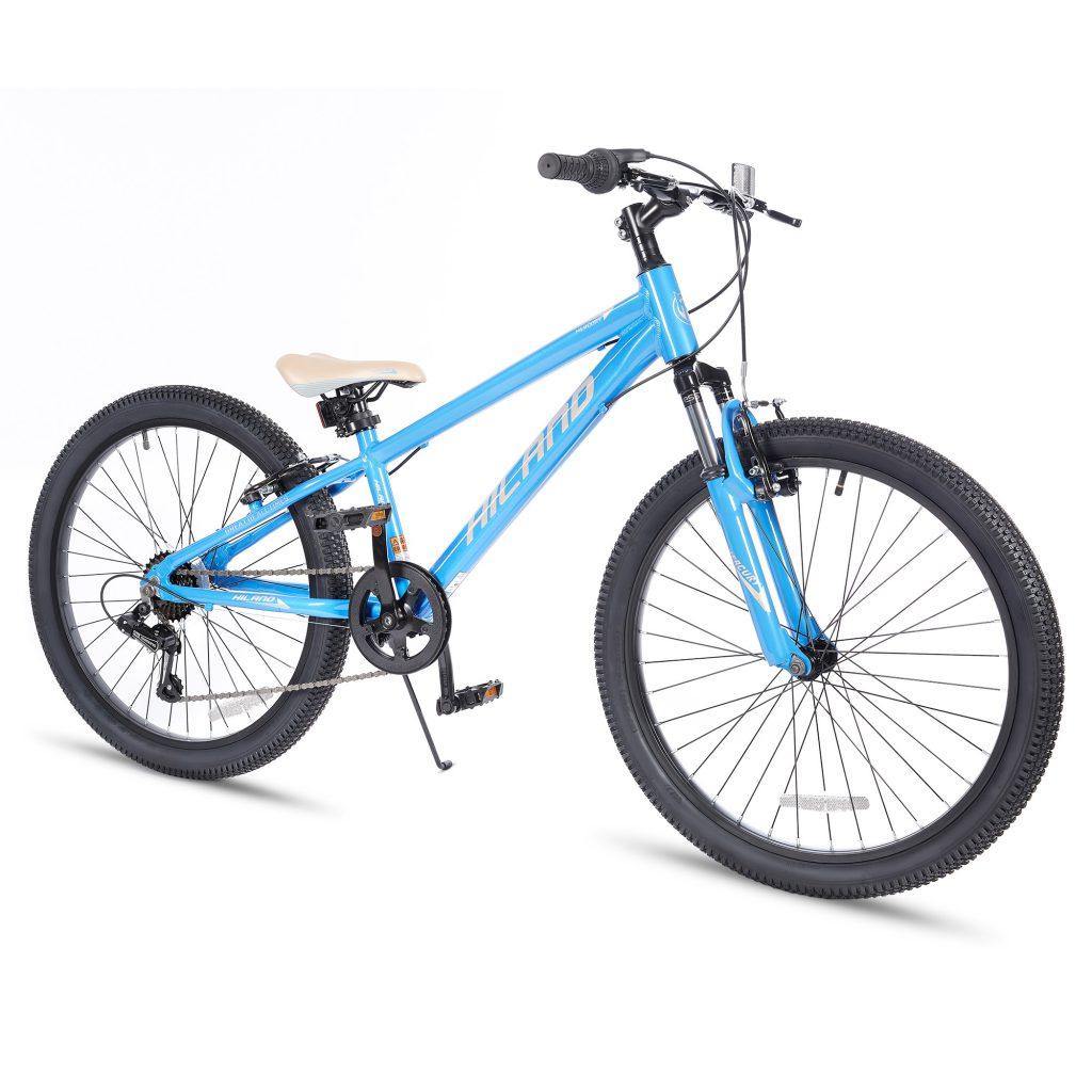 אופני הרים היילנד מרקורי כחולים – אופני הילוכים מאלומיניום לילדים ונוער