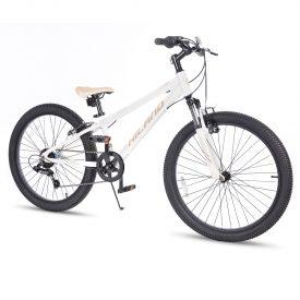 אופני הרים היילנד מרקורי לבנים – אופני הילוכים מאלומיניום לילדים ונוער