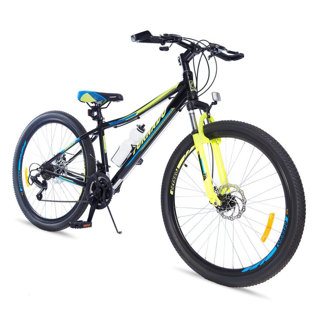 אופני הרים טורנדו M9 שחור – אופני הילוכים מאלומיניום לילדים נוער ובוגרים