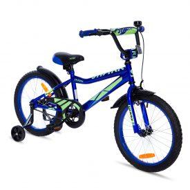 אופני ילדים BMX ספורטיביים שארק כחול נאון