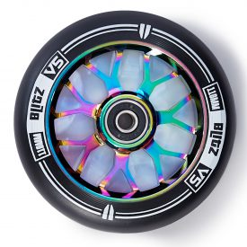 """גלגל 110 מ""""מ לקורקינט פעלולים סקוט מקצועי צבע נאון"""